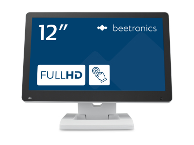12 inch touchscreen (wit)