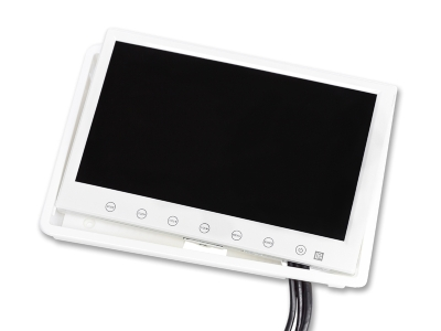 7 inch monitor (wit)