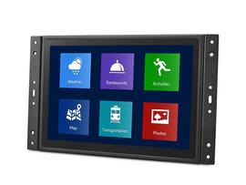 10 inch touchscreen inbouw