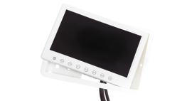 9 inch monitor inbouw wit
